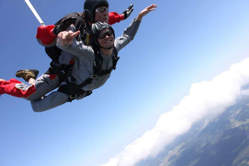 skydiving rainer rössler