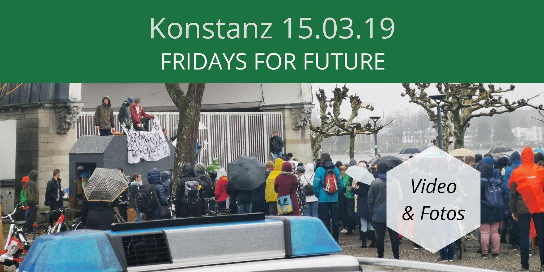 Blogtitel Fridays for future konstanz 15.03.19
