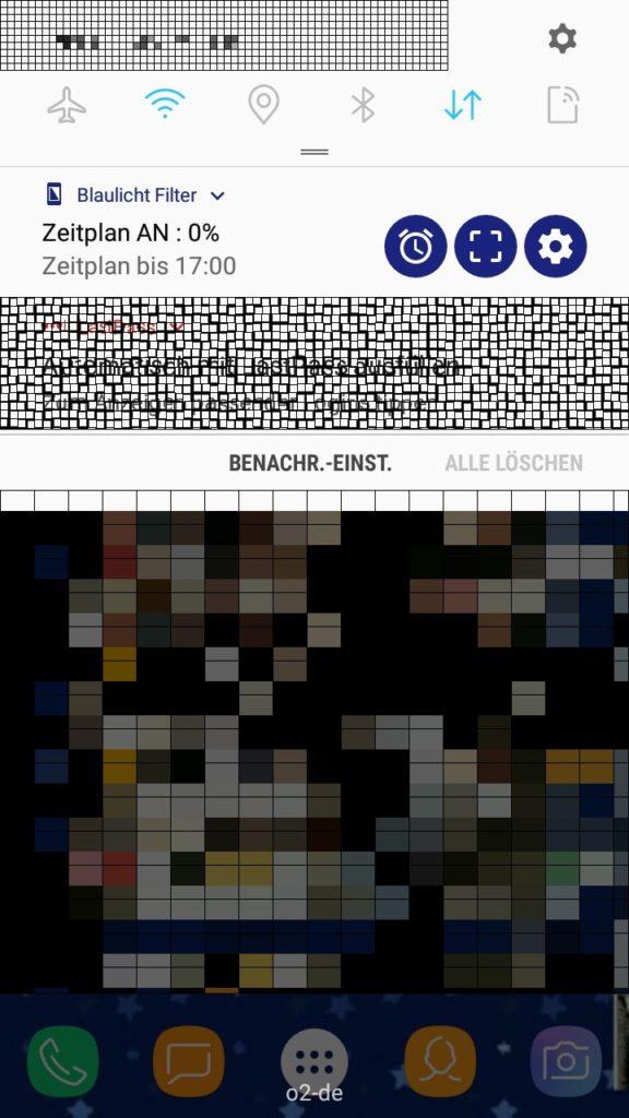 screenshot smartphone anonym blaulichtfilter besser schlafen rainer rössler
